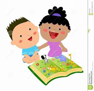 Kids Reading Book Royalty Free Stock Photography - Image ...