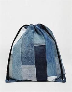 Retro Rucksack Selber Nähen : milk it denim rucksack im patchwork design tasche jeans tasche jeans rucksack und n hen ~ Orissabook.com Haus und Dekorationen