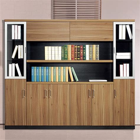 China high quality cheap wooden office wall cabinet modern ...