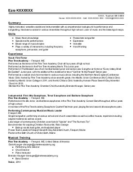 Performing Arts Resume Sles by Resume For Performing Arts Sales Lewesmr