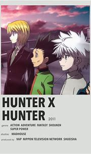 Hunter x hunter | Anime canvas, Anime printables, Anime titles