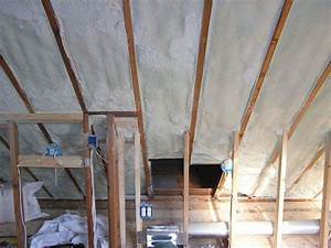 Spray foam insulated roofs with no ventilation allowed in