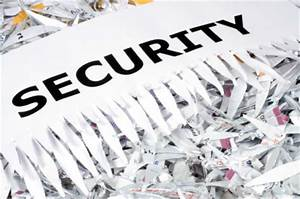 document destruction With who will shred documents