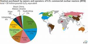The U.S. relies on foreign uranium, enrichment services to ...