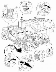 1998-1999 Club Car Ds Gas Or Electric