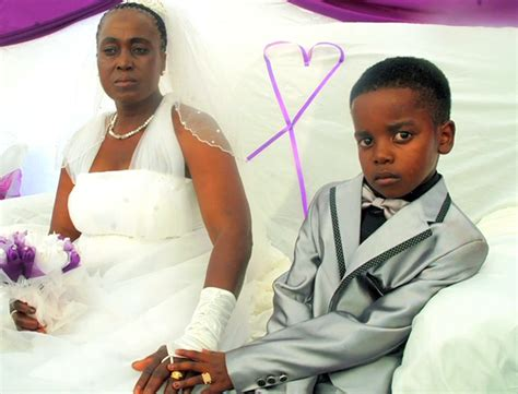 year  boy marries  year  woman  shocking wedding