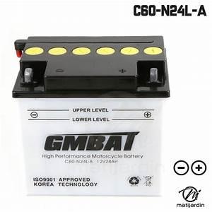 Batterie Tondeuse C60 N24L A Batteries Tracteurs Tondeuses