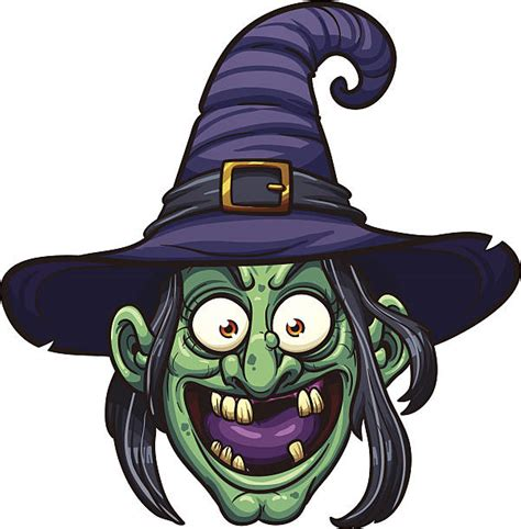 witch clip art vector images illustrations istock