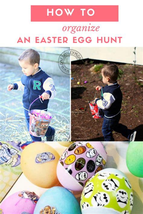 organising an easter egg hunt how to organize an easter egg hunt