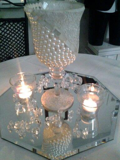 pearls  diamonds centerpiece bouquets  bennett