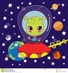 Cute Alien Royalty Free Stock Images - Image: 17325719