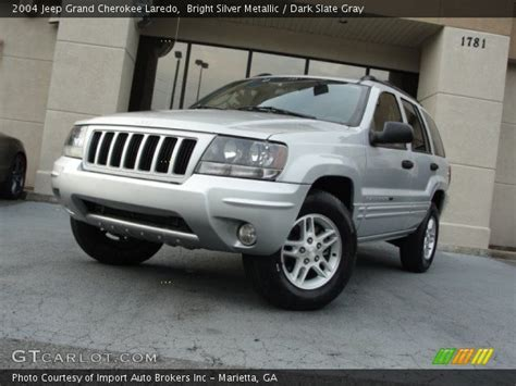 silver jeep grand cherokee 2004 bright silver metallic 2004 jeep grand cherokee laredo