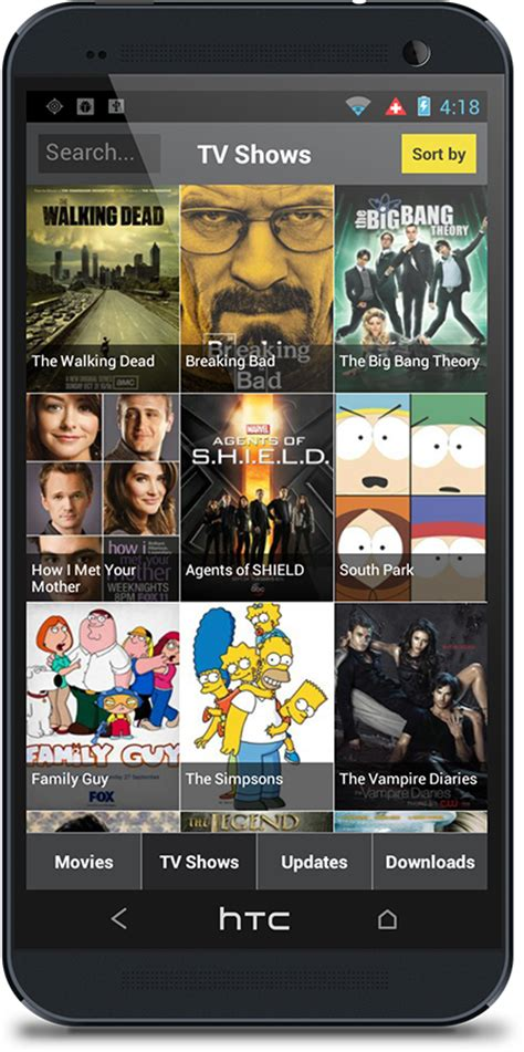 androids tv show showbox for pc