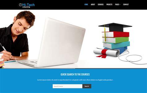 Elearning Bootstrap Website Template Webthemez