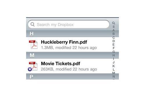 baixar do dropbox do iphone pdf problem