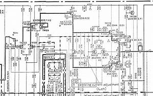 Yamaha A 500 Schematic Detail Power Amplifier Stage Left