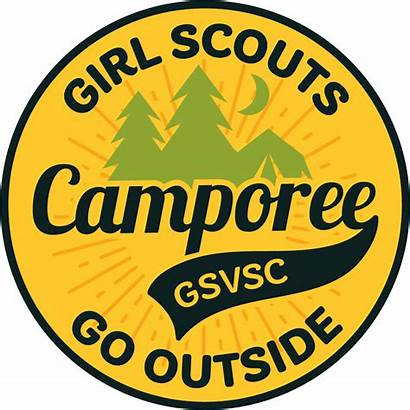 Camporee Scouts Outside Patch Badges Earn Attend