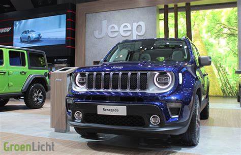 Autosalon Brussel  Live  Ee  Jeep Ee   Groenlicht Be