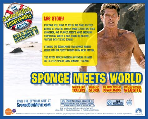 The SpongeBob SquarePants Movie - Only In Theaters ...