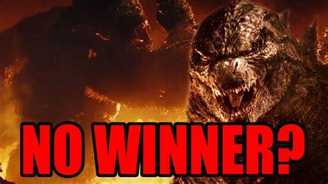No Winner In Godzilla Vs Kong 2020?