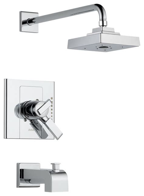delta monitor faucet delta monitor r 17 series tub and shower trim t17486
