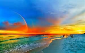 Rainbow Sunset Beach Florida