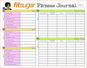 Diet Spreadsheet Template