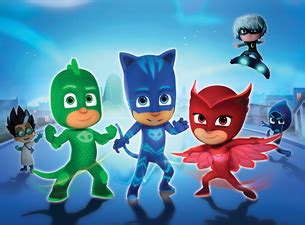 pj masks  time    hero   louisville palace