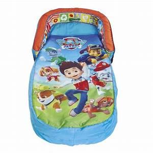 Lit D Appoint Gonflable : pat patrouille lit d 39 appoint sac de couchage enfant avec ~ Melissatoandfro.com Idées de Décoration