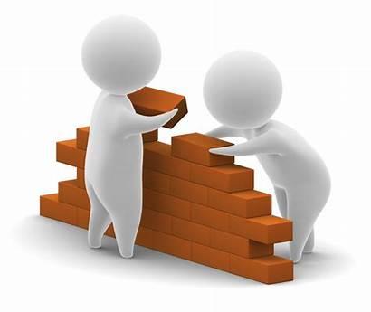 Foundation Building Clipart Company Strong Marketing Blocks