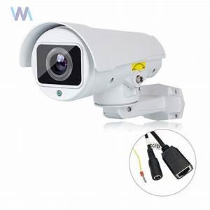 10x Zoom 1080p Full Hd Cvi Bullet Ptz Camera 2mp 50m Ir Nightvision Ip66 Outdoor