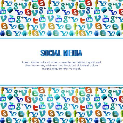 Social Media Background Social Media Background Photoshop Vectors Brushlovers