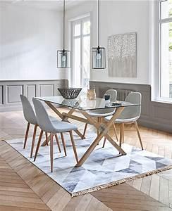 table ronde a volets malena blanc boire manger et tons With salle À manger contemporaine avec mobilier scandinave design