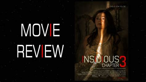 Insidious: Chapter 3 Movie Review - YouTube
