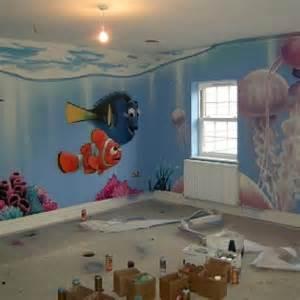Finding Nemo Wallpaper For Bedroom by Finding Nemo Disney Pixar And Graffiti Art On Pinterest