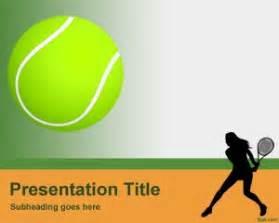 tennis ball powerpoint template