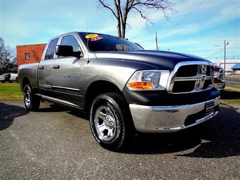 2011 Dodge Ram 1500 Quad Cab Youtube