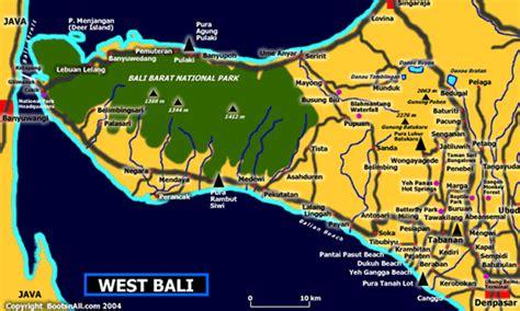 map  west bali bali blog
