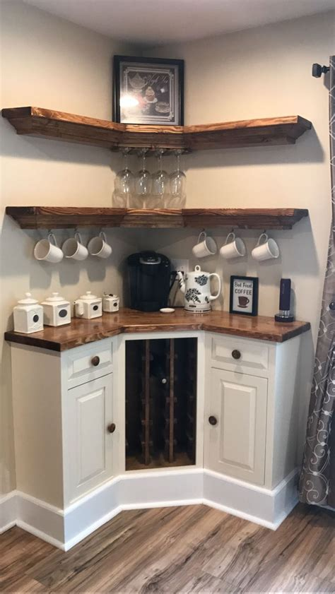 home coffee bar ideas   coffee lovers