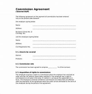Commission Split Agreement Template