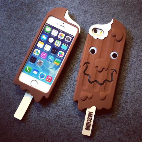 chocolate iphone 3d chocolate pattern soft silicone cover for