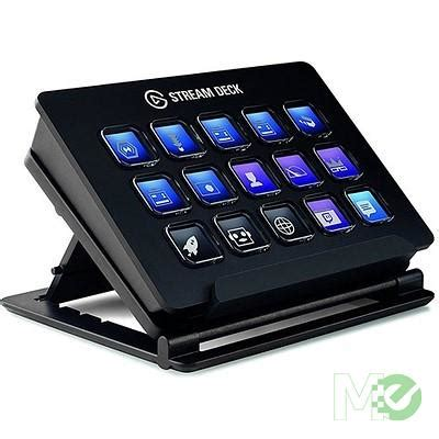 elgato stream deck programmable lcd keyboard gaming