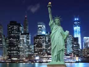 Statue of Liberty New York City at Night