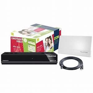 Hat Mein Fernseher Dvb T2 : telestar set dvb t2 hd receiver inkl antenne set digihd ~ Lizthompson.info Haus und Dekorationen