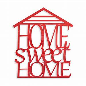 Home Sweat Home : napis na cian home sweet home flexistyle ~ Markanthonyermac.com Haus und Dekorationen