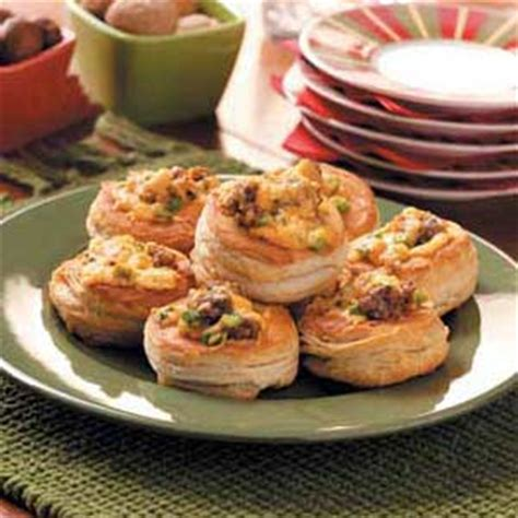 freezable canapes cajun canapes recipe taste of home