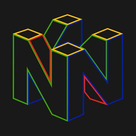 Nintendo 64 Logo Color Nintendo T Shirt Teepublic