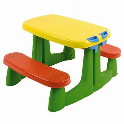 Table Picnic Clipart Outdoor Clip Tables Plastic