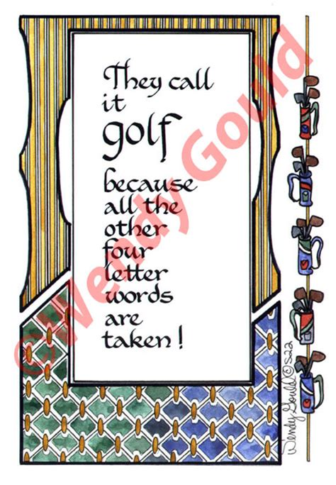 Golf Quotes And Sayings Quotesgram