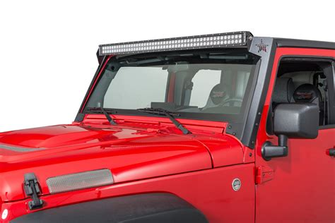 rock slide ac ws 100 50 quot led light bar mount for 07 17